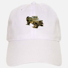 Willys Jeep Baseball Baseball Cap