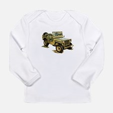 Willys Jeep Long Sleeve Infant T-Shirt