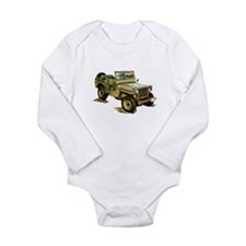 Willys Jeep Long Sleeve Infant Bodysuit