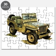Willys Jeep Puzzle