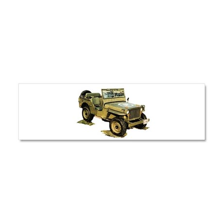 Willys Jeep Car Magnet 10 x 3