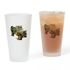 Willys Jeep Drinking Glass