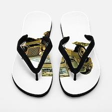 Willys Jeep Flip Flops