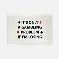 Gambling Problem Rectangle Magnet