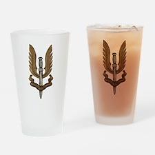 British SAS Drinking Glass