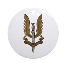 British SAS Ornament (Round)