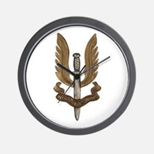 British SAS Wall Clock