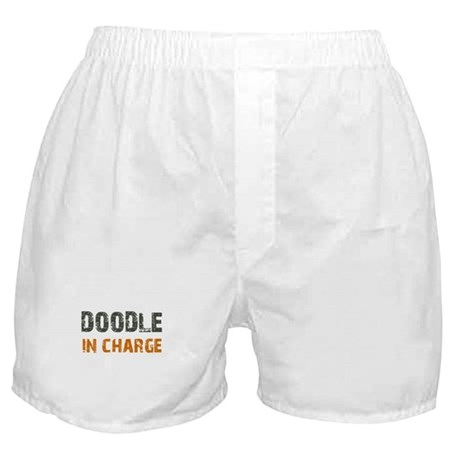 Doodle IN CHARGE Boxer Shorts