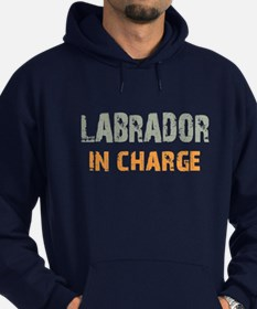 Labrador IN CHARGE Hoodie