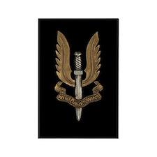 British SAS Rectangle Magnet