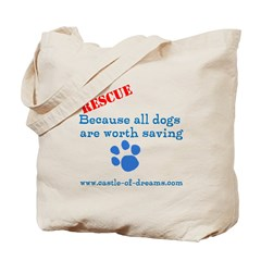 Save all Dogs Tote Bag
