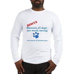 Save all Dogs Long Sleeve T-Shirt