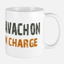 Cavachon IN CHARGE Mug