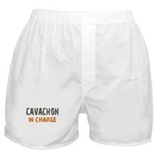 Cavachon IN CHARGE Boxer Shorts
