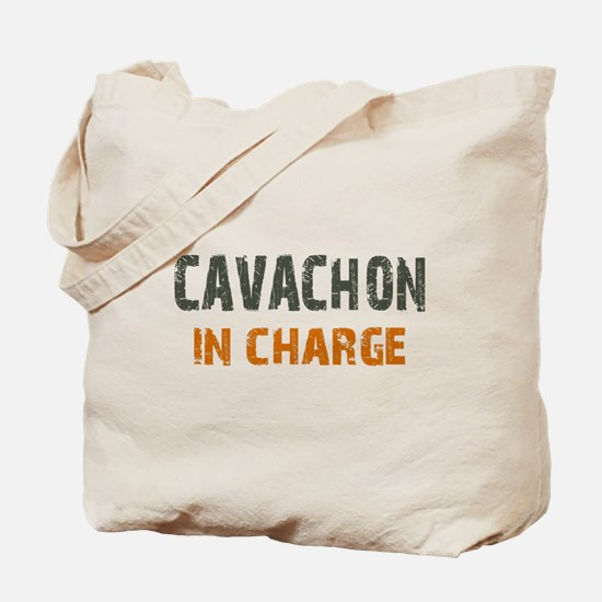 Cavachon IN CHARGE Tote Bag