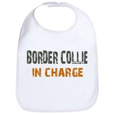 Border Collie IN CHARGE Bib