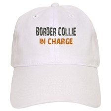 Border Collie IN CHARGE Baseball Cap
