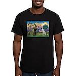 SAINT FRANCIS Men's Fitted T-Shirt (dark)