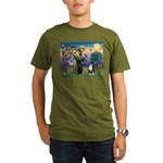 S, Fr, #2/ Australian Shep 2 Organic Men's T-Shirt