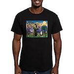 S, Fr, #2/ Australian Shep 2 Men's Fitted T-Shirt