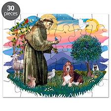 St.Francis #2/ Basset Hound Puzzle