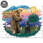 St.Francis #2/ Belgian Shep Puzzle