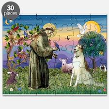 St Francis & Borzoi Puzzle