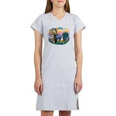 St.Francis #2/ Boxer (crop.) Women's Nightshirt