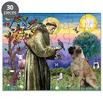 St Francis / Bullmastiff Puzzle