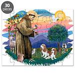St.Fran #2/ Cavalier (2 bl) Puzzle