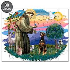 St Francis #2/ Doberman Puzzle