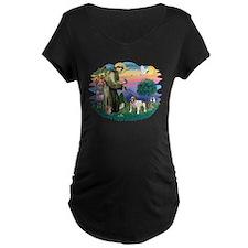 St Francis #2/ Eng Bulldog T-Shirt