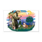St.Francis #2/ Eng Bull (W-Br 22x14 Wall Peel