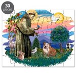 St.Francis #2/ Eng Bull (W-Br Puzzle