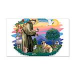 St.Francis #2/ E Bulldog #3 22x14 Wall Peel