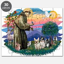St.Francis #2/ Fr Bulldog (3) Puzzle