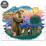 St.Francis #2/ Fr Bulldog (br Puzzle