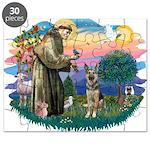 St.Francis #2/ German Shep (P Puzzle