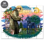 St.Francis #2/ Great Dane (bl Puzzle