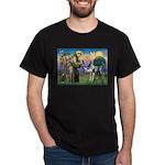 St. Francis & Great Dane Dark T-Shirt