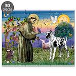 St. Francis & Great Dane Puzzle