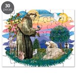 St.Francis #2/ Pyrenees#2 Puzzle