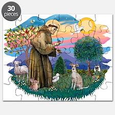 St.Francis #2/ Ital Grey (f) Puzzle