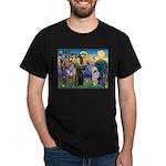 ST. FRANCIS + OES Dark T-Shirt