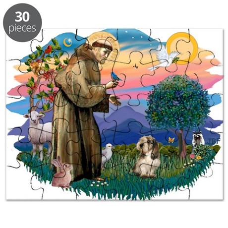 St Francis #2/ PBGV #4 Puzzle