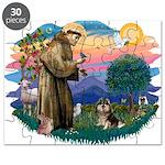 St.Francis #2/ Pomeranian (T Puzzle