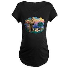 St.Francis #2/ Pomeranian(3) T-Shirt