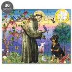 St Francis / Rottweiler Puzzle