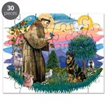 St Francis #2 / Rottweiler Puzzle