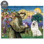 St Francis & Samoyed Puzzle